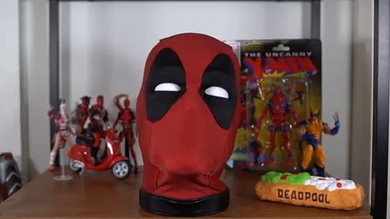 Agora você pode ter uma cabeça falante do Deadpool em tamanho real