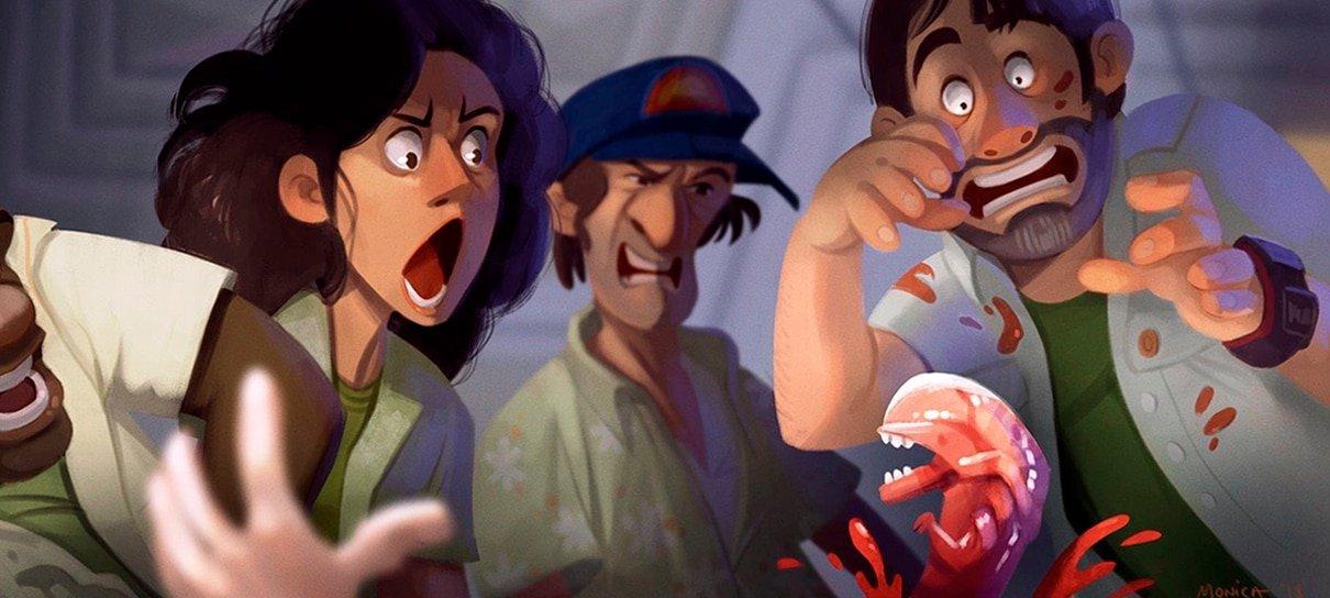 Artista imagina Alien como se fosse uma animação da Pixar