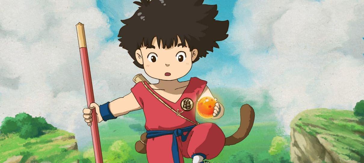Artista imagina como seria se Dragon Ball fosse um filme do Studio Ghibli