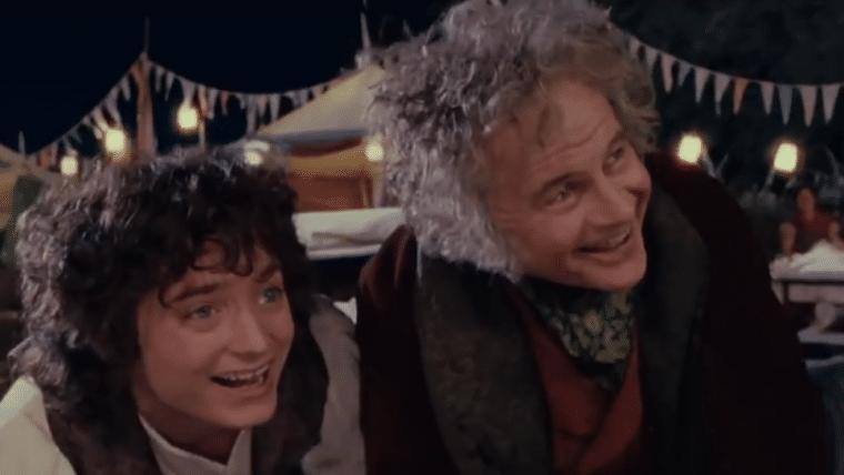 Elijah Wood, o Frodo, faz homenagem a Ian Holm, o Bilbo de O Senhor dos Anéis