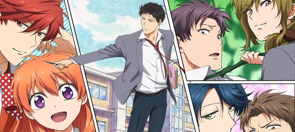 Monthly Girls' Nozaki-kun é um anime curtinho que entrega comédia e romance na medida