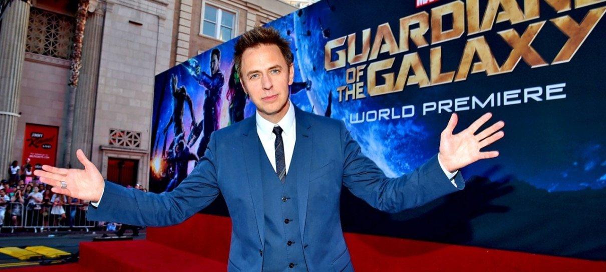 Guardiões da Galáxia 3 será o último filme da franquia dirigido por James Gunn