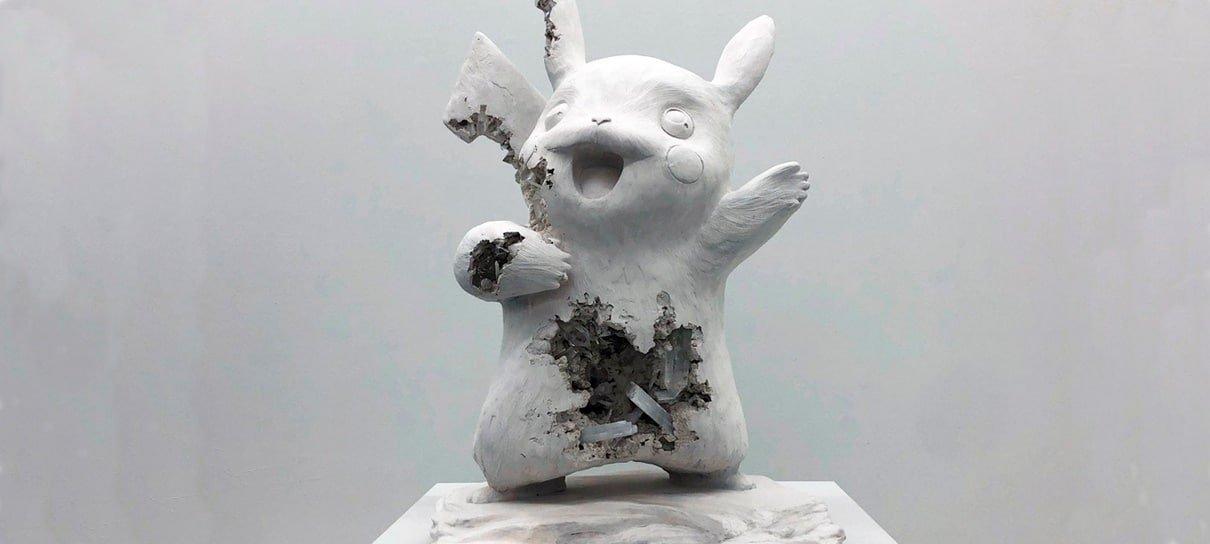 Japão recebe exposição com esculturas de Pokémon fossilizados