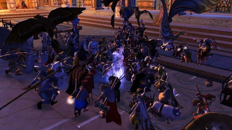 Jogadores de Lord of the Rings Online se reúnem dentro do jogo para homenagear Ian Holm