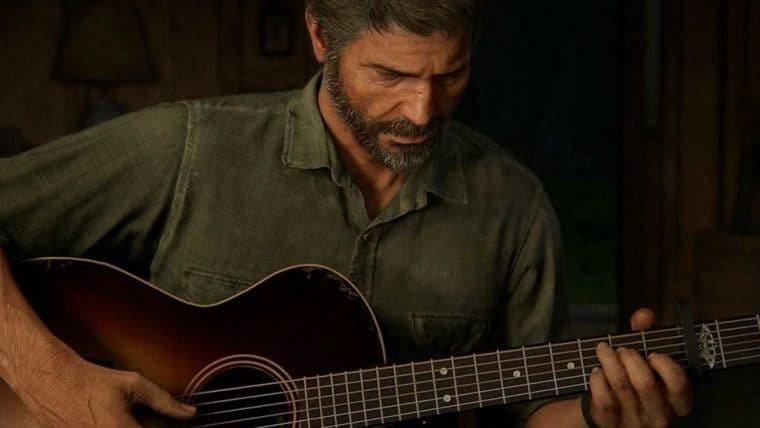 Jogadores já estão tocando músicas na mecânica de violão de The Last of Us Part II