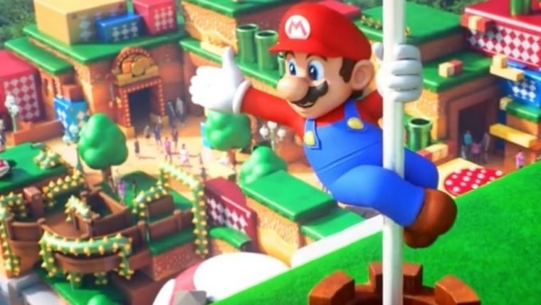 Novo vídeo mostra atrações do parque da Nintendo começando a ser testadas