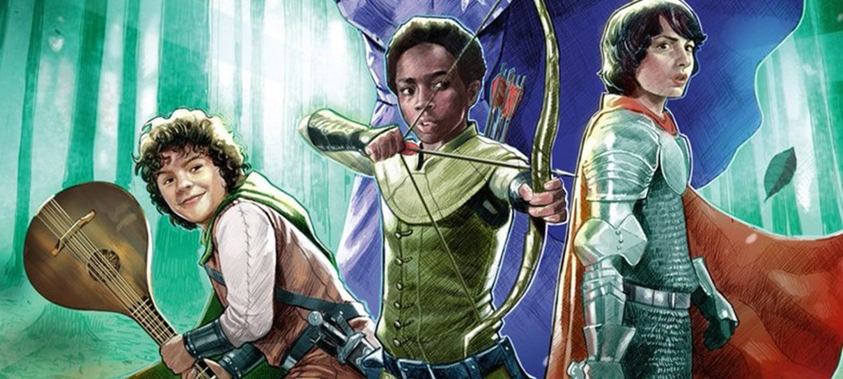 Nova HQ de Stranger Things terá crossover com Dungeons & Dragons