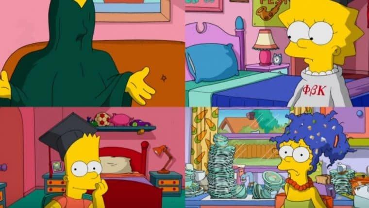 Os Simpsons tentam ver o lado bom de 2020 em vídeo cheio de zoeira