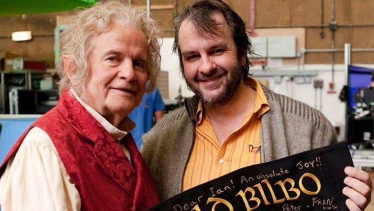 Peter Jackson publica texto em homenagem a Ian Holm, o Bilbo de O Senhor dos Anéis