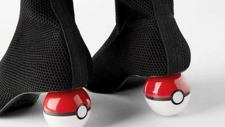 Essas botas com salto de Pokébola vão capturar a sua carteira