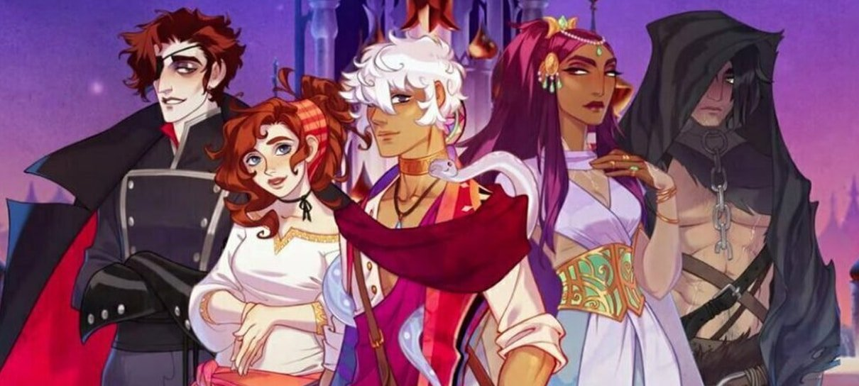 The Arcana é um jogo com personagens envolventes e história cheia de mistério