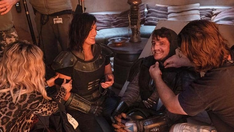 The Mandalorian | Imagens inéditas revelam bastidores da primeira temporada