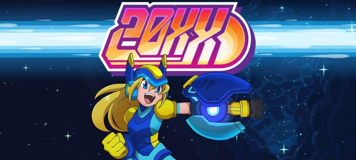 20XX, jogo indie inspirado em Mega Man, está gratuito para PC
