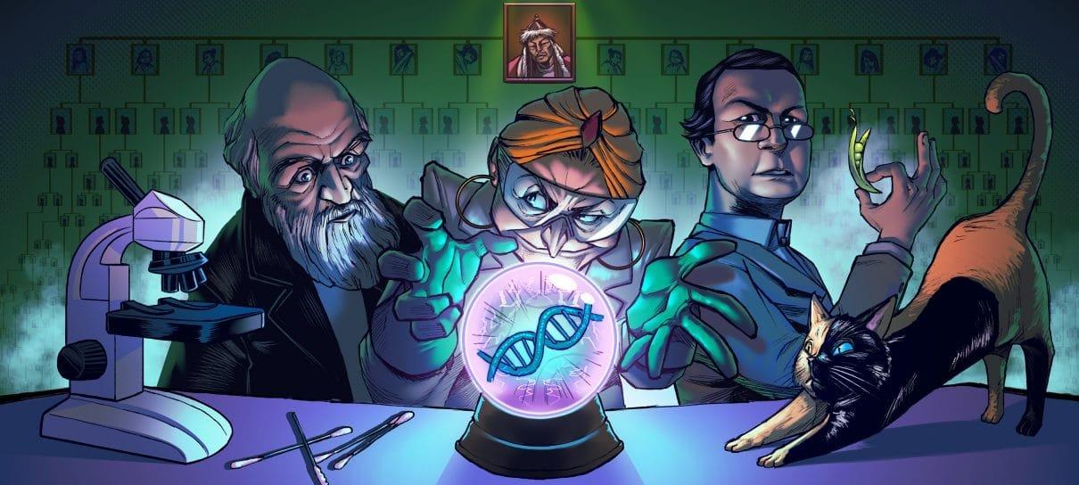 DNA, ervilhas e Genghis Khan