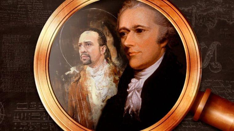 A vida de Alexander Hamilton