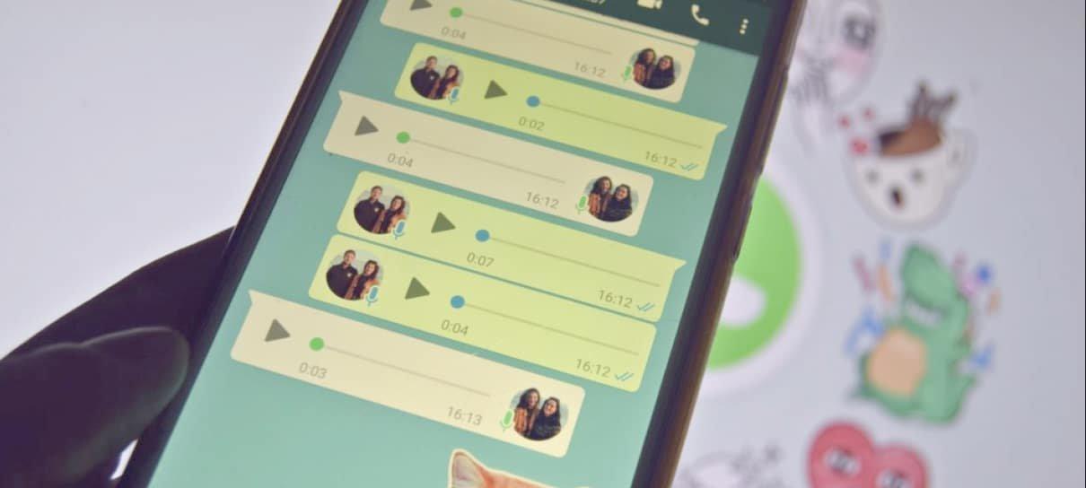 Mais de 50% dos brasileiros gostam de áudio no WhatsApp, aponta pesquisa