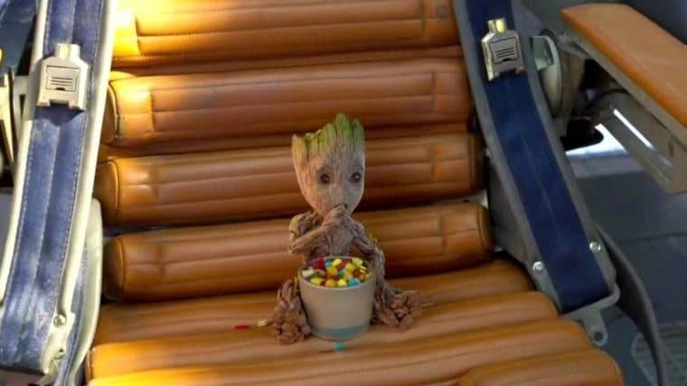 James Gunn confirma teoria de fã de 7 anos sobre Baby Groot em Guardiões da Galáxia 2