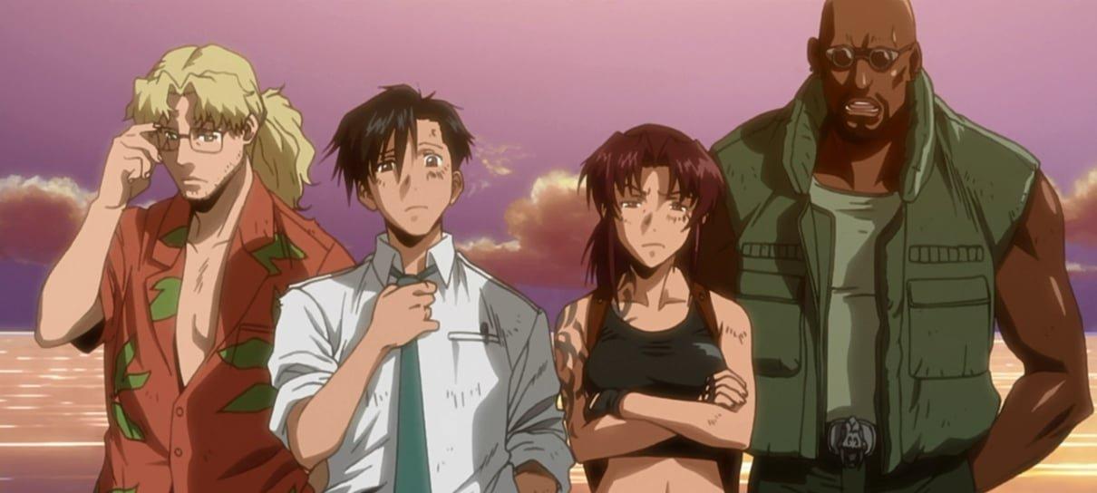 Black Lagoon é tiro, porrada e bomba em um anime com estilão de anos 90