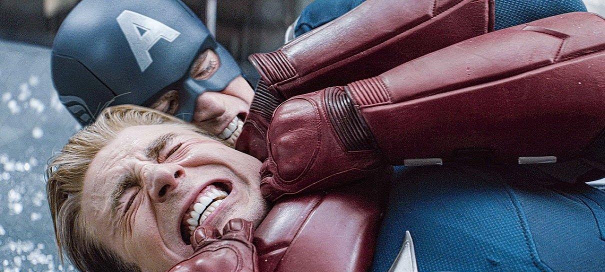 Vingadores: Ultimato | Vídeos mostram bastidores de luta entre versões do Capitão América