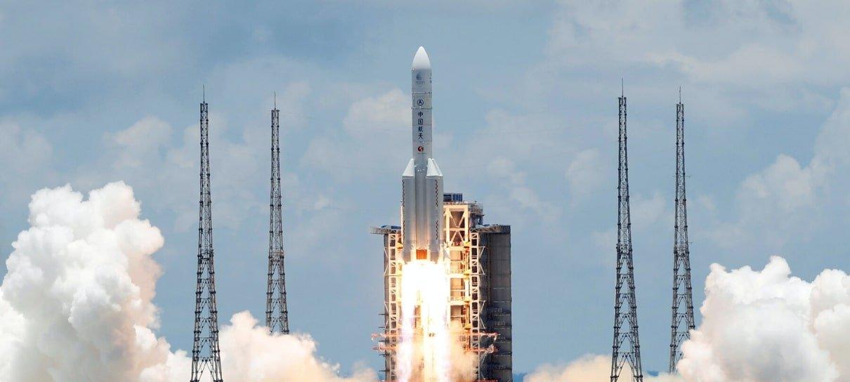 Sonda chinesa é lançada com sucesso à Marte