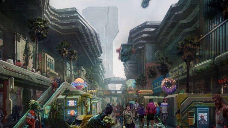 Cyberpunk 2077 | Confira mais imagens dos distritos de Night City