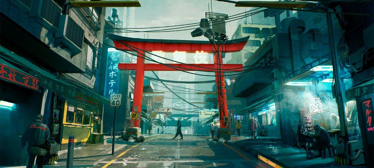 Cyberpunk 2077 ganha mais artes conceituais destacando cenários coloridos