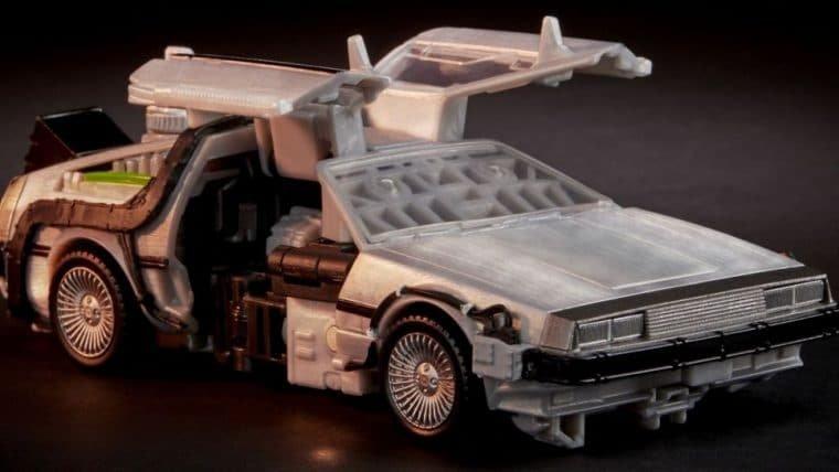 DeLorean que é um Transformer é pura nostalgia dos anos 1980