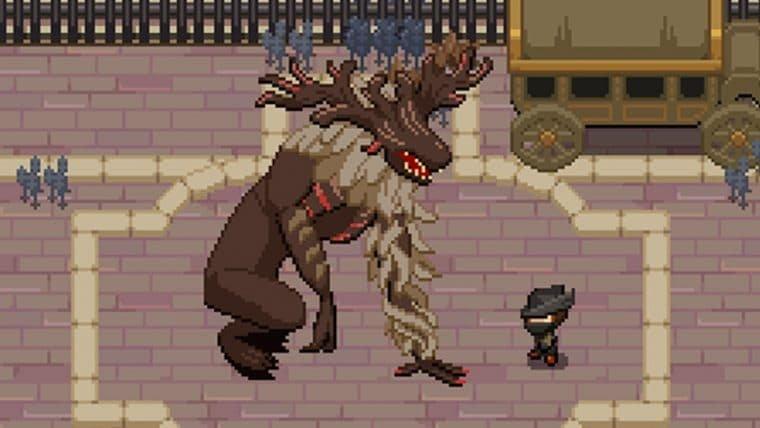 Desenvolvedor recria Bloodborne como um jogo gratuito em estilo 16-bits