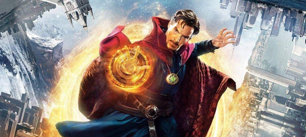 Benedict Cumberbatch visita loja de quadrinhos durante filmagens de Doutor Estranho; veja