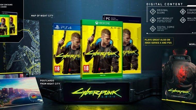 Edição normal de Cyberpunk 2077 também terá conteúdo bônus; confira