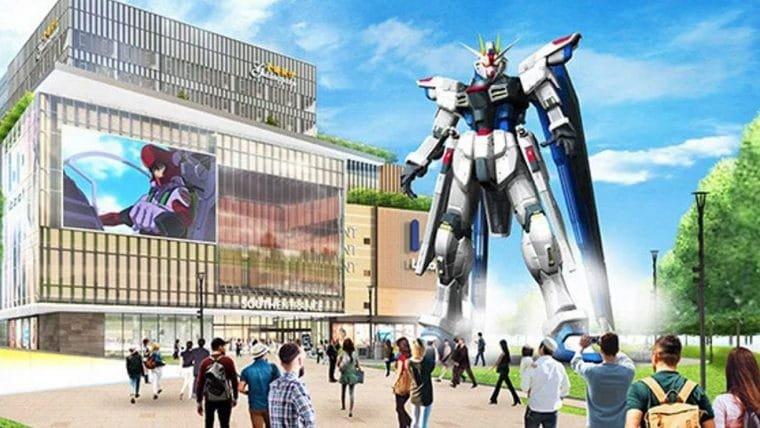Estátua de Gundam de 18 metros será construída em Xangai