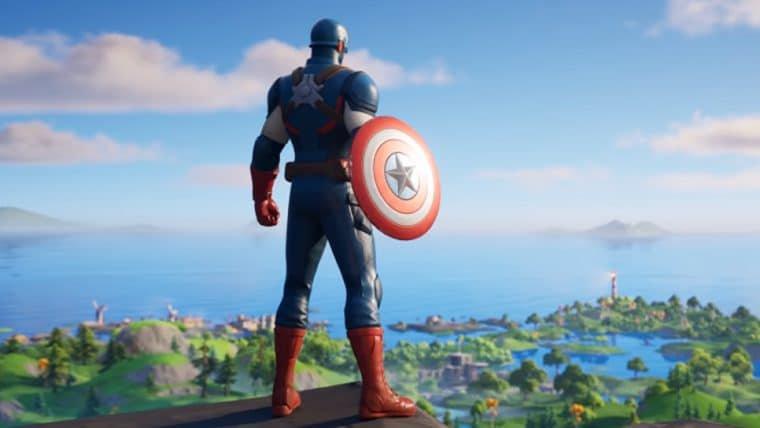 Fortnite ganha skin de Capitão América