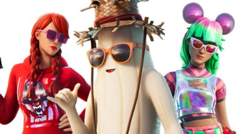 Fortnite | Evento de verão terá skin de banana descascada, segundo imagem vazada