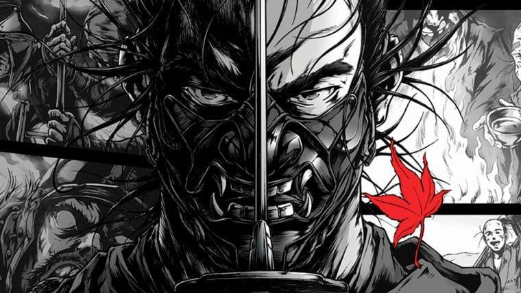 Ghost of Tsushima ganha pôsteres em estilo mangá pelo ilustrador de Afro Samurai
