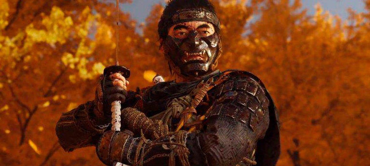 Sony oferece tema gratuito de Ghost of Tsushima para PlayStation 4