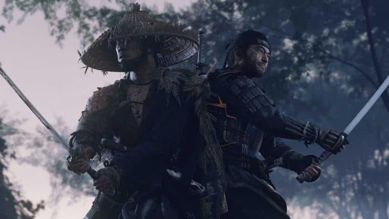 Ghost of Tsushima vendeu 2,4 milhões de cópias em apenas três dias