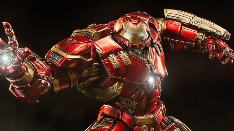 Iron Studios mostra detalhes de nova estátua do Hulkbuster