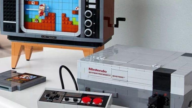 NES de LEGO é confirmado por US$ 229,99