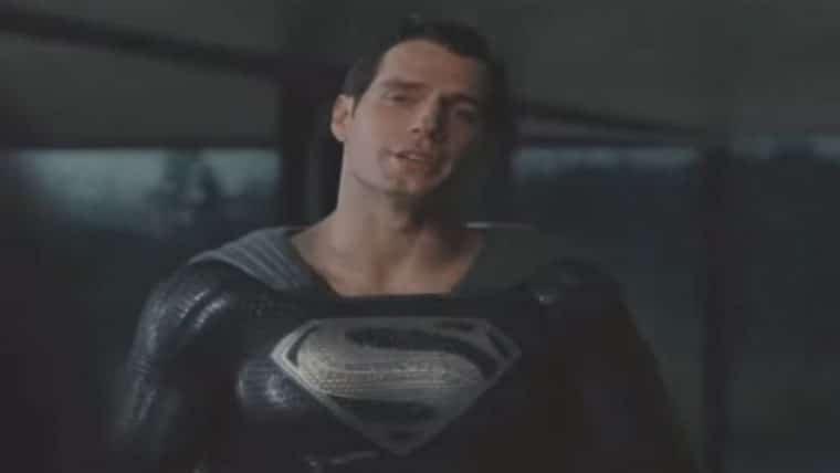 Liga da Justiça | Superman aparece com traje preto em trecho do Snyder Cut; assista
