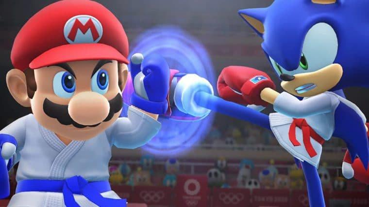Mario e Sonic estrelam vídeos para promover Olimpíadas de Tóquio
