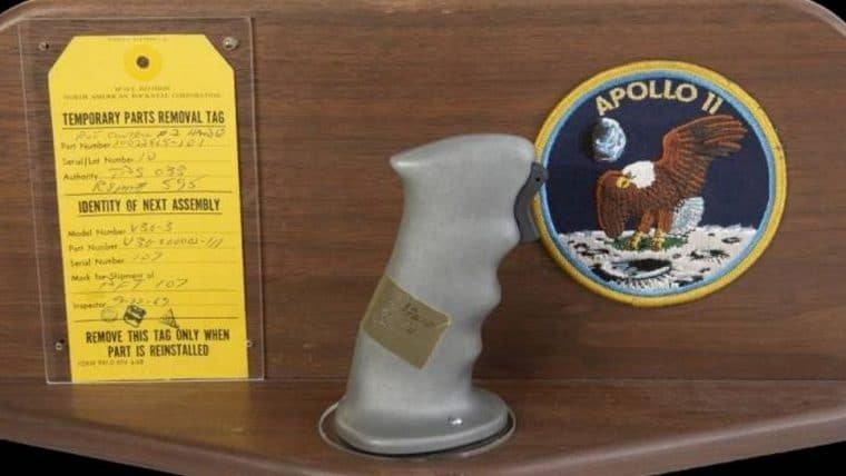Controles usados na Apollo 11 arrecadam US$ 780 mil em leilão