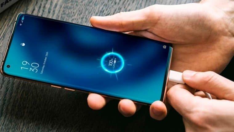 Oppo anuncia carregador que enche a bateria em apenas 20 minutos