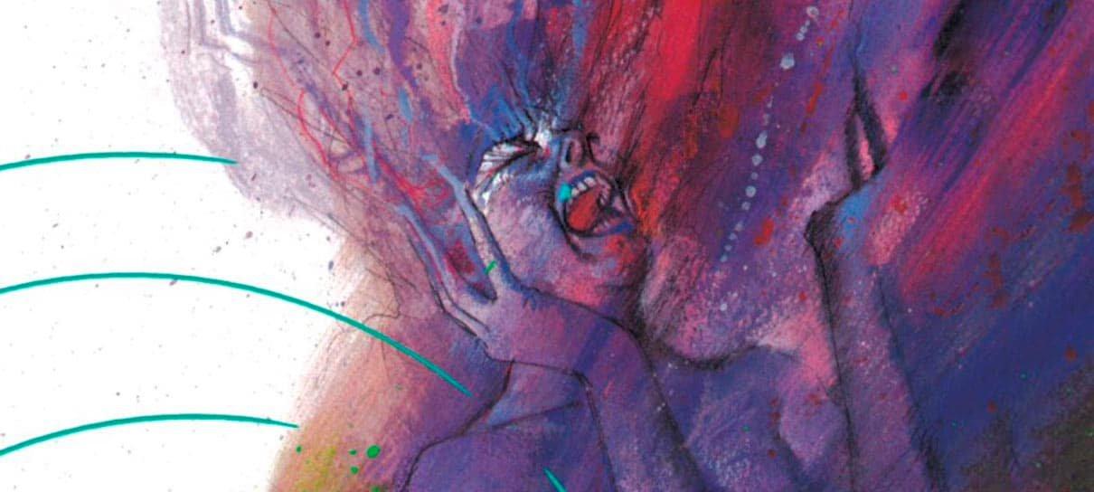 Orquídea Negra é uma HQ intimista criada por Neil Gaiman e Dave McKean