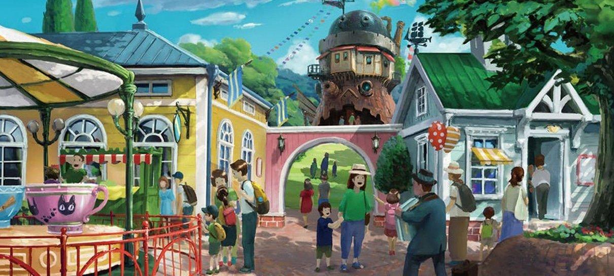 Parque do Studio Ghibli já está sendo construído