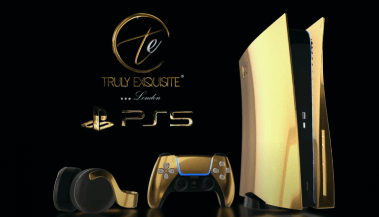 playstation 5 ouro