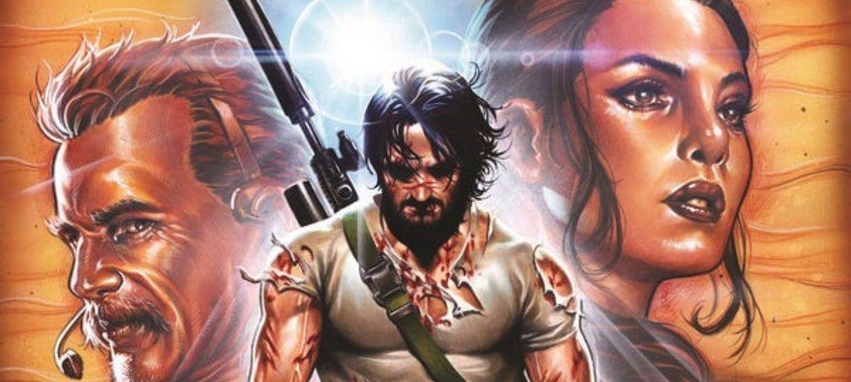 Keanu Reeves criou BRZRKR, HQ com personagem principal bastante parecido com ele