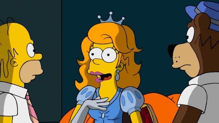 Os Simpsons | Homer encontra sua versão princesa da Disney em vídeo; assista