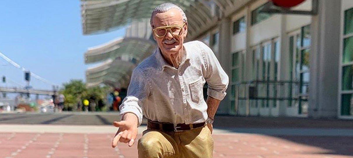 Stan Lee ganha colecionável cheio de referências