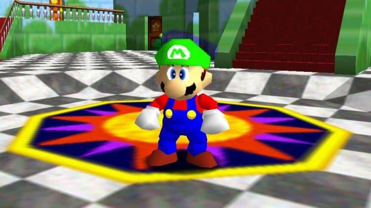 Vazamento da Nintendo confirma teoria de fãs sobre Luigi em Super Mario 64