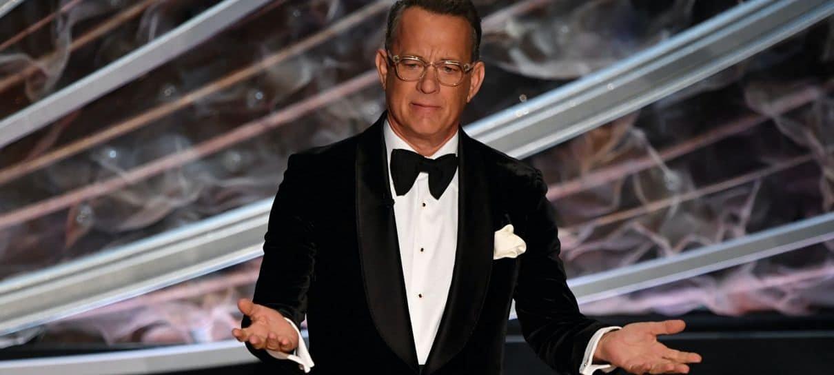 Tom Hanks dá bronca em pessoas que se recusam a usar máscaras
